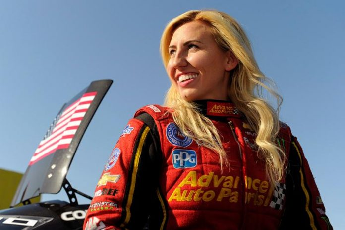 BREAKING NEWS - COURTNEY FORCE STEPPING AWAY FROM DRIVING DUTIES