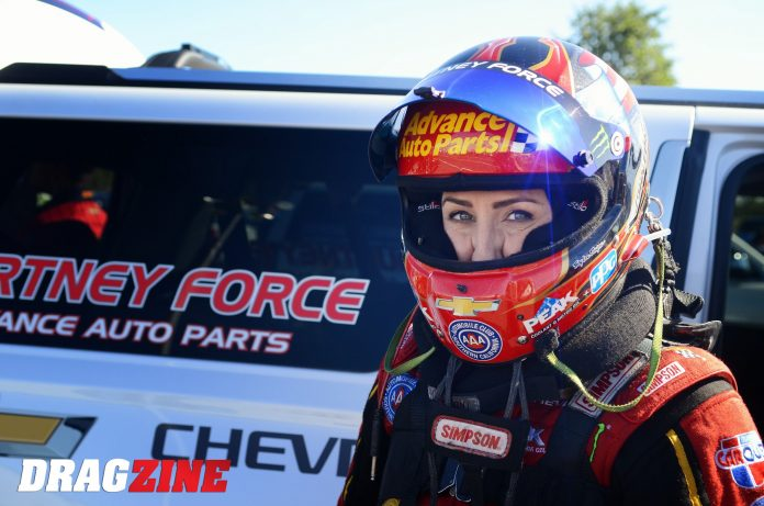 Courtney Force Stepping Away From Driving Duties