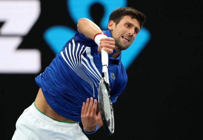 Djokovic takes first set of Australian Open final against Nadal