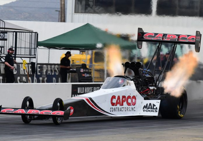 NHRA CHAMPIONS MAKE STATEMENT IN FIRST-DAY PRO WINTER WARM-UP TESTING