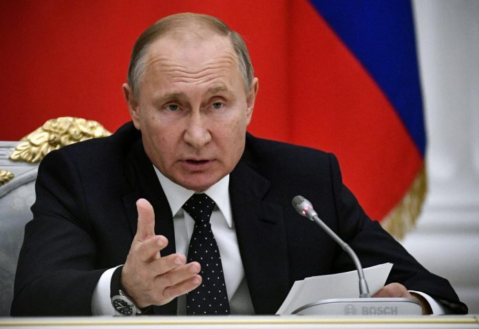 Russia suspends INF nuclear deal with U.S.: Putin
