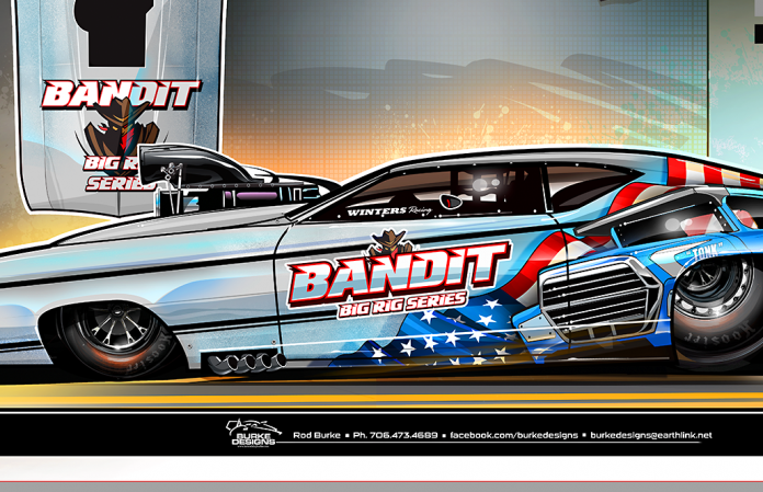Pro Mod's Winters Partners With Bandit Big Rig Series