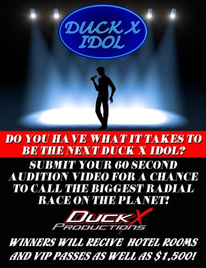 THE DUCK IDOL COMPETITION - DONALD LONG'S ABSURD ANNOUNCER SEARCH