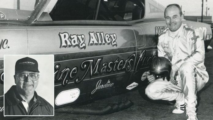 DRAG RACING LEGEND RAY ALLEY PASSES