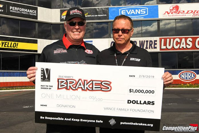 TERRY VANCE MAKES SIGNIFICANT B.R.A.K.E.S. CONTRIBUTION