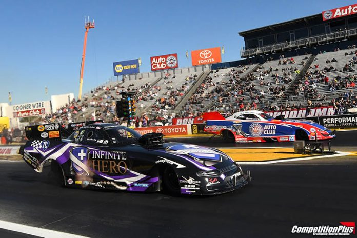 PERFECT END TO A PERFECT WEEKEND FOR HIGHT WITH FUNNY CAR WIN AT POMONA