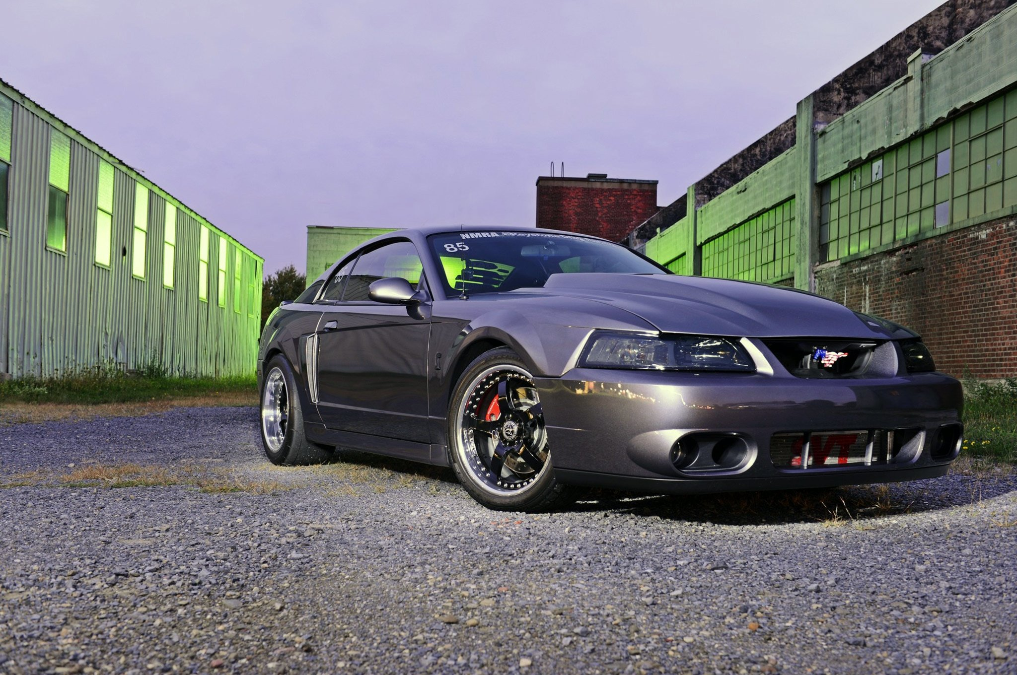 This 2003 Ford Mustang Terminator Cobra Has Traveled a ...