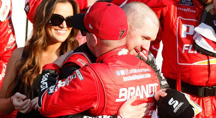 Justin Allgaier's second place at Daytona creates confidence