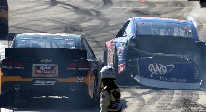 Stewart reflects on Logano incident with Dale Earnhardt Jr.
