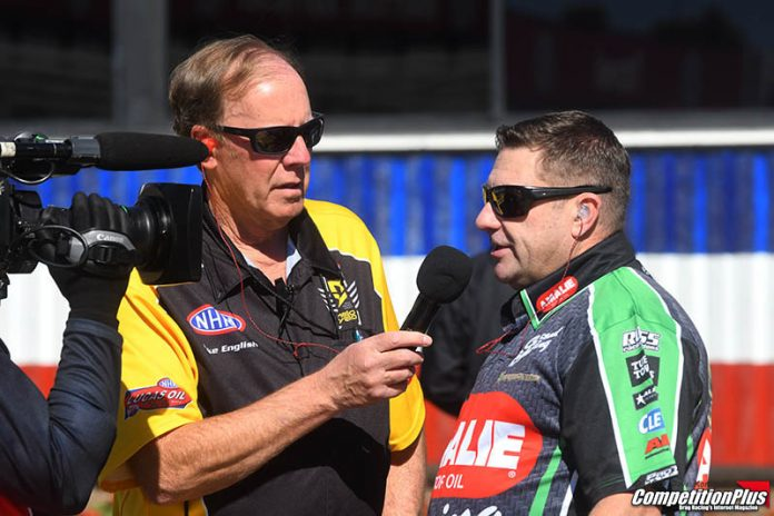 NHRA CREW CHIEFS ADJUSTED TO COLD IN PHOENIX