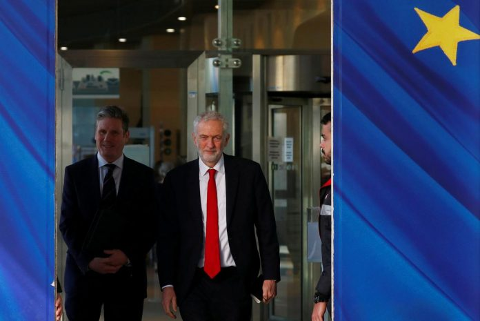 Britain's Labour Party backs Brexit referendum