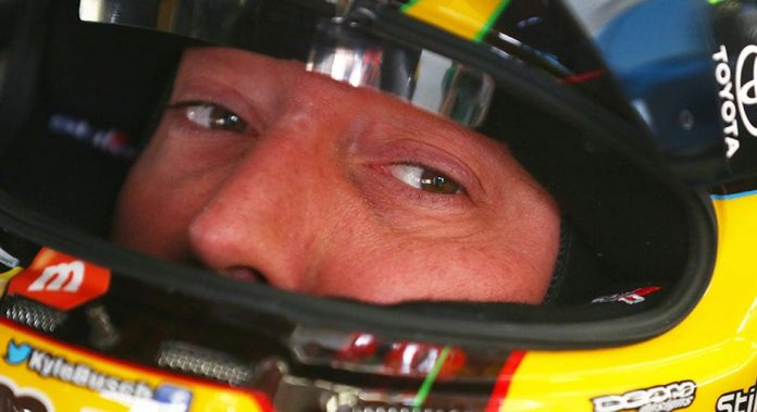 Kyle Busch: Don't see myself anywhere but JGR