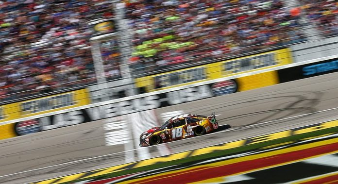 Kyle Busch tripleheader sweep comes up short in Vegas