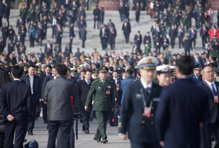 Rise in China's defense budget to outpace economic growth target