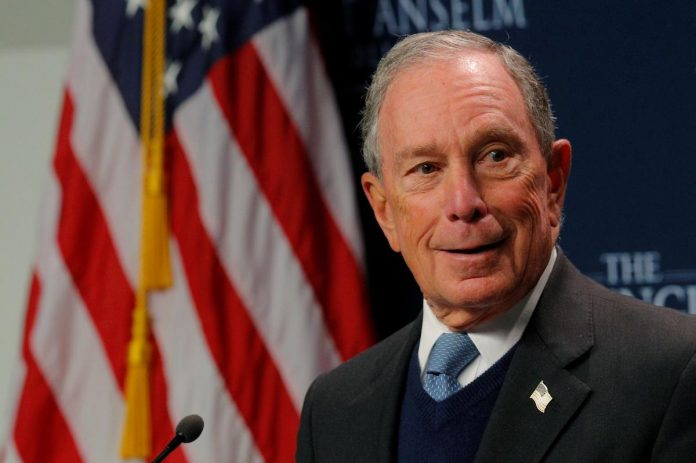 Former NY Mayor Bloomberg to forgo 2020 White House bid, will focus on climate change