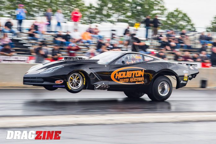 Marcus Birt Records First Nitrous Radial-Tire Run In The 5's