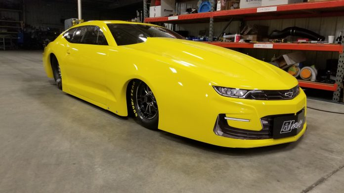 JEG COUGHLIN JR'S NEW RJ RACE CARS PRO STOCK 2019 CHEVY CAMARO