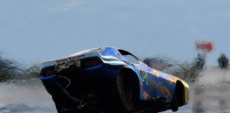 BYNUM CRASHES AA/FC DURING PRE-MARCH MEET TEST SESSION