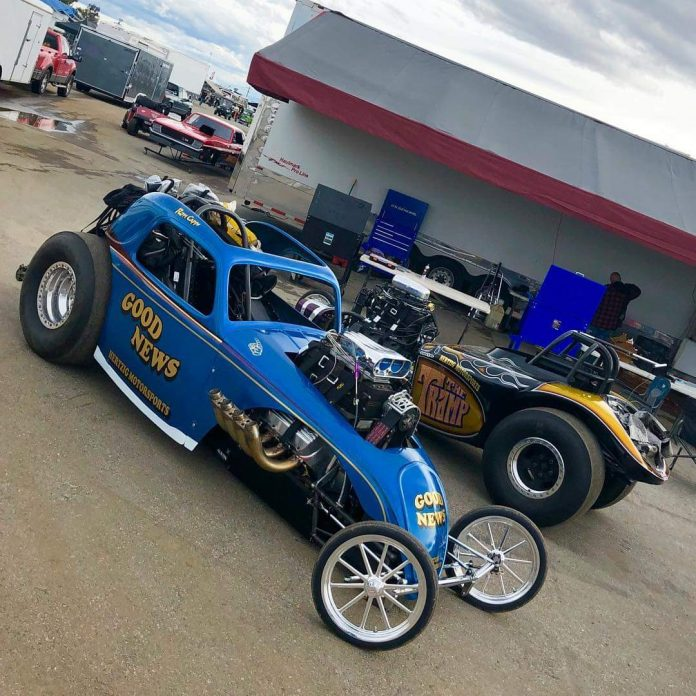 RON CAPPS TO DRIVE AA/FUEL ALTERED AT MARCH MEET
