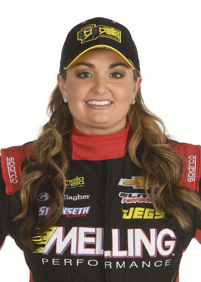 ELITE MOTORSPORTS ADDS PEOPLEASE SPONSORSHIP TO PRO MOD, PRO STOCK CARS OF ERICA ENDERS