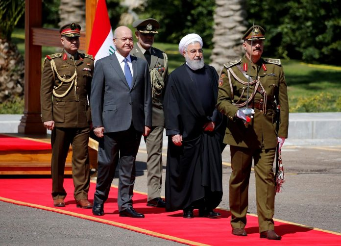 Trade ties in focus as Iran's Rouhani begins Iraq visit