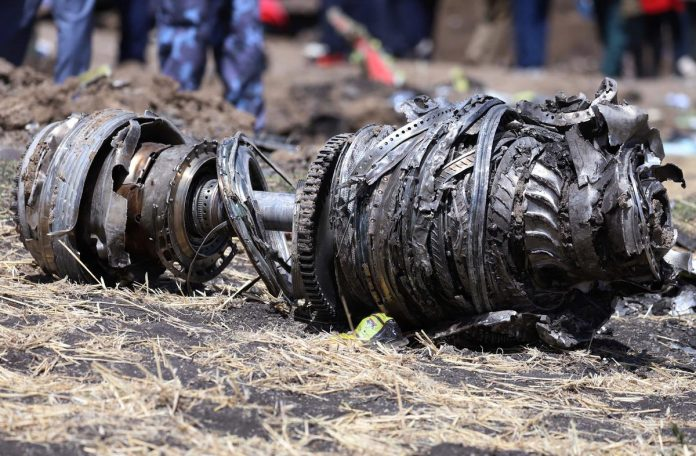 U.S. says 737 MAX safe to fly after Ethiopia crash; Boeing shares dip