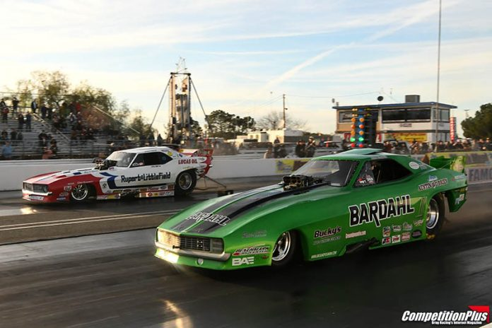 COTTRELL TOPS AT BAKERSFIELD MARCH MEET IN NOSTALGIA FUNNY CAR