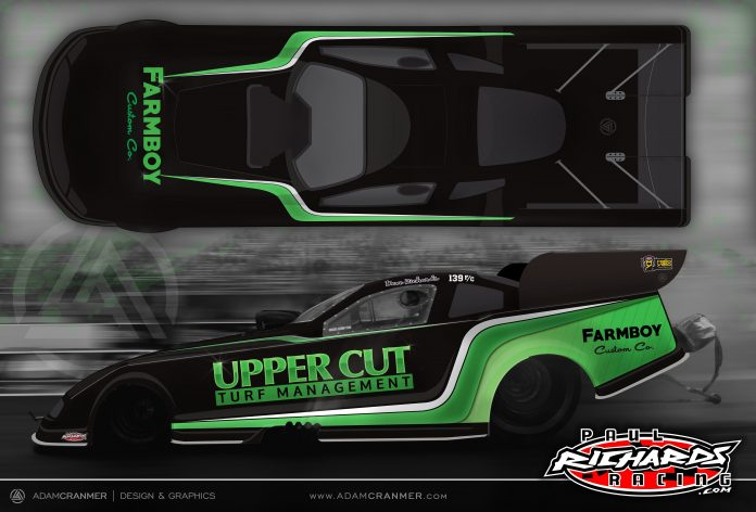 Paul and Dave Richards' Funny Car Team Welcomes New Sponsors