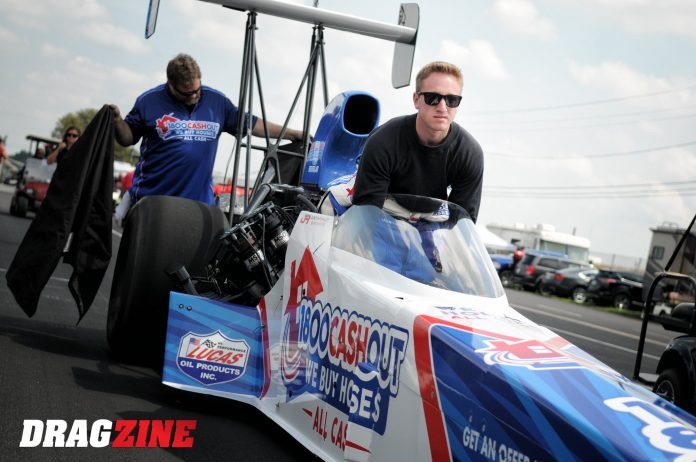 Justin Ashley Racing Announces 20/20 Vision Tour in NHRA Top Fuel