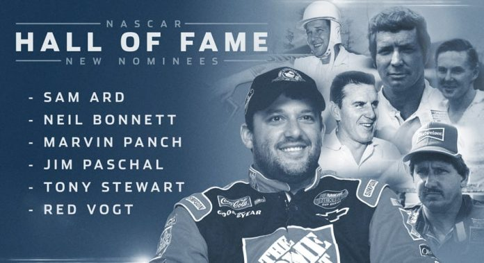 Tony Stewart headlines NASCAR Hall of Fame nominees