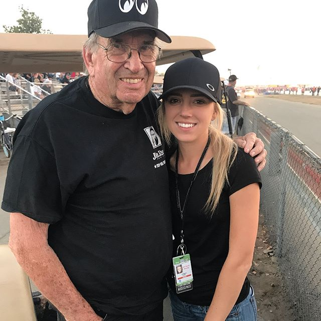 JOHNNA DUNN, READY TO RESUME WORK ON FUNNY CAR, SAYS THANKS FOR WISHES, PRAYERS