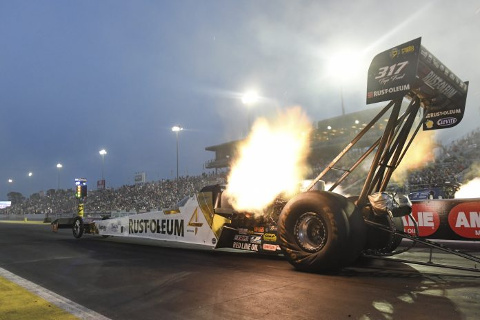 ZIZZO, HIGHT, BUTNER AND M. SMITH CURRENT NO. 1 QUALIFIERS AT 50TH ANNUAL NHRA GATORNATIONALS