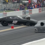 CASTELLANA CRASHES IN PRO MOD QUALIFYING AT GATORNATIONALS