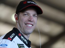 Brad Keselowski tops third practice at Auto Club