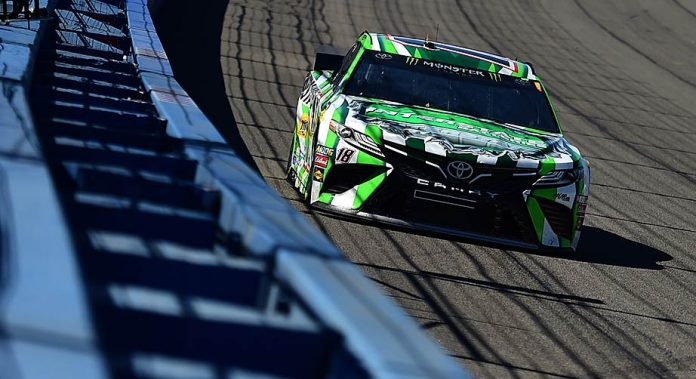 Kyle Busch's No. 18 all clear in post-race inspection