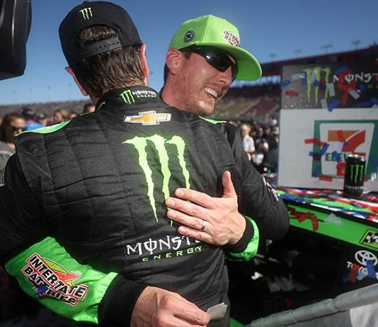Kurt Busch cheers brother's 200th, stays hungry for more