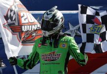 Kyle Busch lands 200th national-series win at Auto Club
