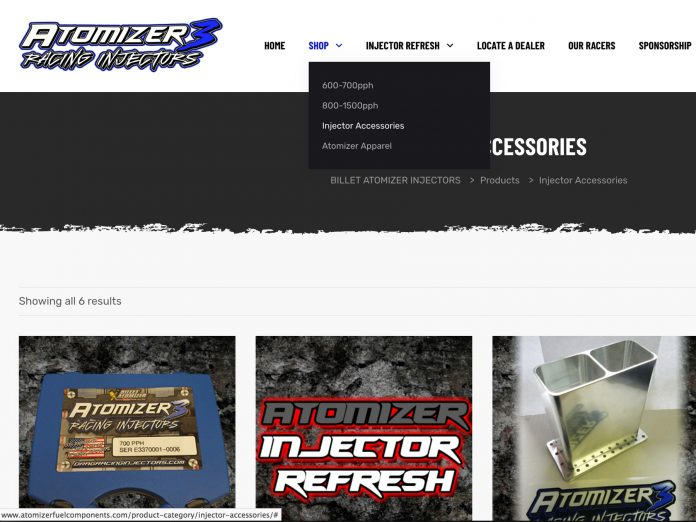 Atomizer Injectors Unveils New Feature Packed Website For Customers