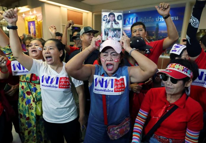 Thailand's coup leader and 'democratic front' face off in long-awaited election