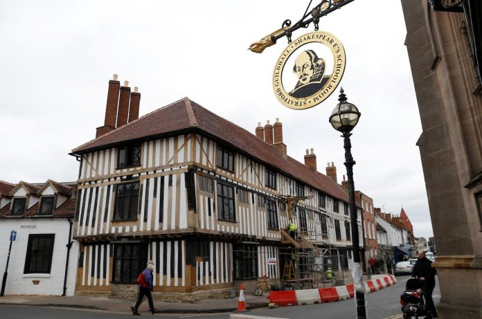 Shakespeare's birthplace mirrors a scepter'd isle riven by Brexit discontent