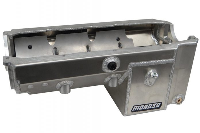 Moroso Introduces Dart/Rocket Small Block Kick Out Aluminum Oil Pan