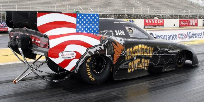 ALLAN MIDDENDORF TO DEBUT THE AMERICAN OUTLAW AT FUNNY CAR CHAOS