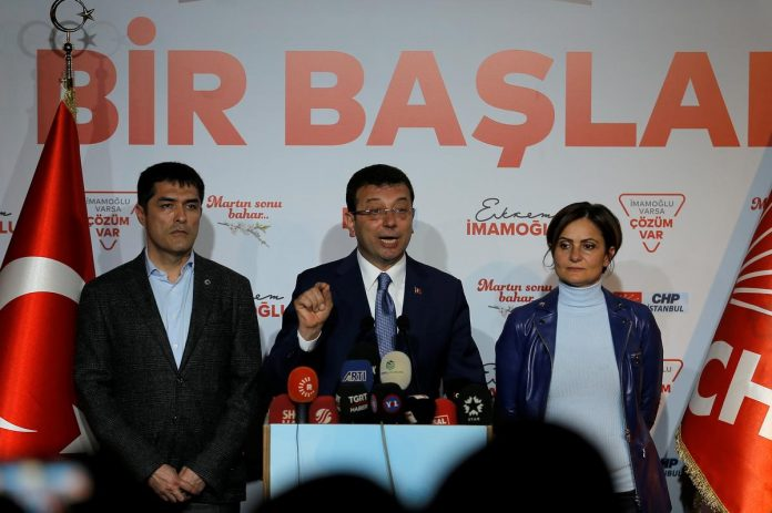 Turkey's main opposition candidate says 'very clear' he won Istanbul