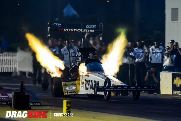 Zizzo Reaping Rewards Of NHRA's Track Prep, His Own Team's Hard Work