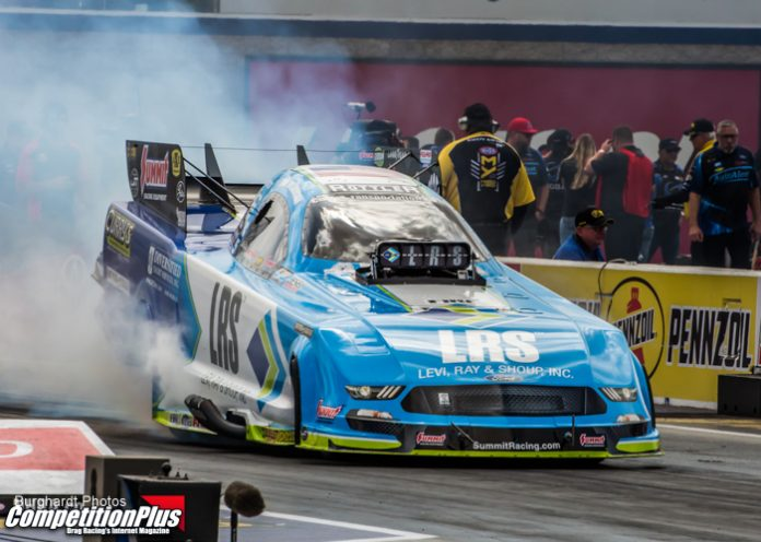 WILKERSON PROVISIONAL NO. 1 ON FUNNY CAR QUALIFYING LADDER
