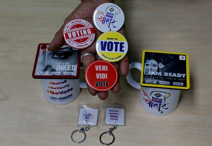 Roads, boats and elephants: voters gear up for India's massive general election