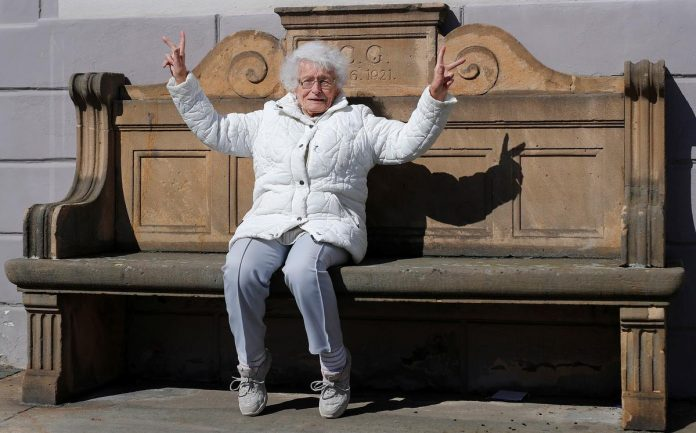 Making a splash: Centenarian runs for office in German town