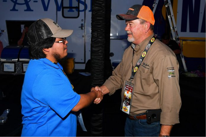 MOPAR PROGRAM HELPS STUDENTS NETWORK WITH POTENTIAL EMPLOYERS AT RACETRACK