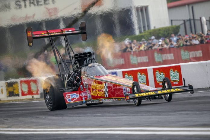 BRITTANY FORCE TOPS HOUSTON QUALIFYING FRIDAY WITH TRACK-RECORD RUN
