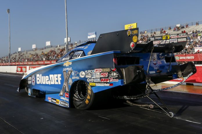 BRITTANY, JOHN ARE FORCES TO BE RECKONED WITH AT NHRA SPRINGNATIONALS